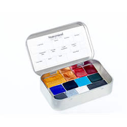 Stoneground Watercolour Palette - 12pc Calligraphy **ND**