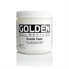 Golden Medium Crackle Paste 8oz