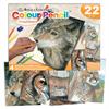 Royal & Langnickel Coloured Pencil by Numbers Wildlife Box Set
