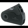 Sharpener Faber Castell Double Hole Sleeved Canister - Black