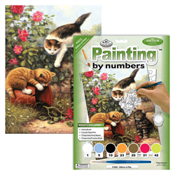 Royal & Langnickel Paint By Numbers Kittens at Play