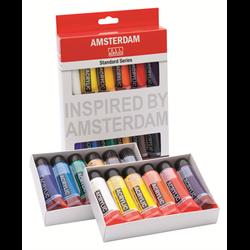 Amsterdam Acrylic Standard Set 12X20ML **ND**