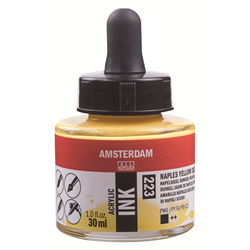 Amsterdam Acrylic Ink 30ML NAPLES YLW DP **ND**