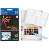 Koi Water Colors Pocket Field Sketch Box 24 Colours