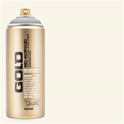 Montana GOLD Spray Shock White cream - 400ml **ND**