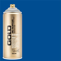 Montana GOLD Spray Shock Blue - 400ml **ND**