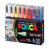 POSCA Acrylic Marker set Medium 5M - Basic 16pc **ND**
