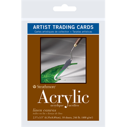 Strathmore Trading Cards 400 Acrylic Canvas