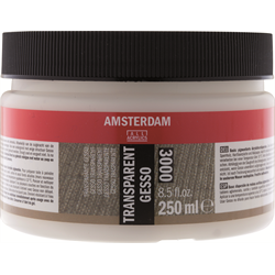 Amsterdam Acrylic Ground GESSO TRANSPARENT 250ML