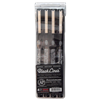 Pacific Arc Black Liner 4 Pen Set - Drawing 0.1/0.3/0.5/0.8