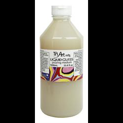 Tri-Art Liquid Glass Pouring Medium 1000ml / 33.8oz.