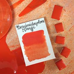 Stoneground Watercolour Half Pan Brilliant Orange **ND**