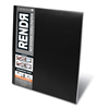 """Rendr Soft Cover Pad 9"""" x 12"""" **ND**"""