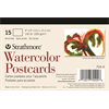 "Strathmore Cards Postcards Watercolor CP 140lb 4"" x 6"" 15pk"