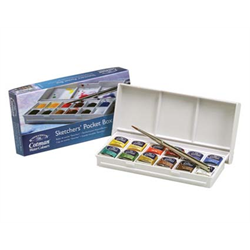 Cotman Watercolour Sketchers' Pocket Box Set