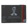 SM.LT authenticpad Album Sketch Black 24.5cm x 176cm 165gsm 18shts **ND**