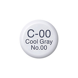 Copic Ink and Refill C00 Cool Grey *ND*