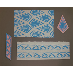 Block Printing on Fabric with Lindsay Shore, March 10th