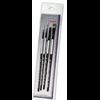 Black Silver Brush Set BS-SH-6