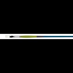 Brush Princeton SNAP White Taklon LH Flat #8