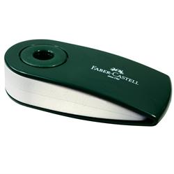 Eraser Faber Castell White Vinyl Green Sleeved **ND**