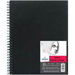 Canson Art Book Sketch coil 11x14 65lb