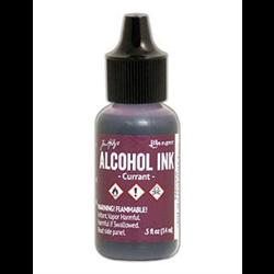 Ranger Tim Holtz Alcohol Ink 14ml Currant **ND**