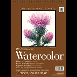 "Strathmore 400 Watercolor Wire Bound 9""x12"""