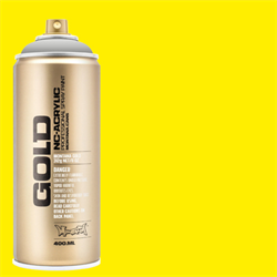 Montana GOLD Spray 100 Percent Yellow - 400ml **ND**
