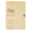 SM.LT authenticpad Folder Sketch Natural Brown A4 135gsm 80shts **ND**