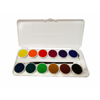 Additional images for Grumbacher WC012.SET Opaque Watercolor Pan Set-12