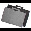 "Additional images for Itoya Profolio Midtown Bag 17"" x 23"" Black w/ Blue Threading"