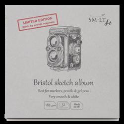 SM.LT authenticpad Layflat Album Bristol Sketch 14.8cm x 14.8cm 185gsm 32shts **