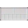 "Palette Richeson Plastic Heavy Duty 9 Well Slant Tray 3 5/16"" x 7 1/8"""