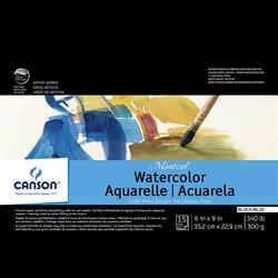 Canson Montval Watercolor CP Block 6x9 140lb