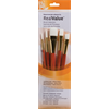 Brush Set 9151 Real Value Series - White Taklon Set of 5 brushes