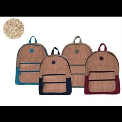 Onyx + Blue Cork Backpack