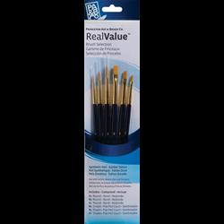 Brush Set 9137 Real Value Series - Golden Taklon Set of 6 brushes