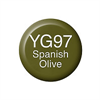 Copic Ink and Refill YG97 Spanish Olive *ND*