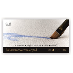 SM.LT Watercolor Pad 20x40cm 260gsm 20shts **ND**