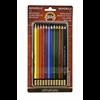 Koh-I-Noor Mondeluz Aquarelle Pencil set of 12