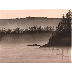 5-session Beginner Watercolors with Tom Chan, April 18 -26