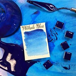 Stoneground Watercolour Half Pan Phthalo Blue **ND**