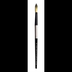 Brush Black Silver SH Round 12