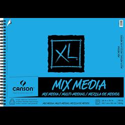 Canson XL Mix Media Coil 18x24 98lb