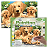 Royal & Langnickel Paint By Numbers Golden Retriever with Puppies