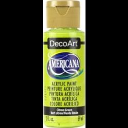 Americana Acrylic Citron Green 2oz **ND**