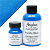 Angelus Acrylic Leather Paint Pearlescent Pacific Blue 1oz