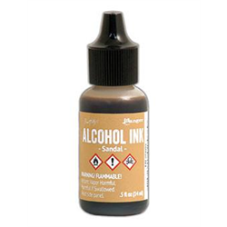 Ranger Tim Holtz Alcohol Ink 14ml Sandal **ND**