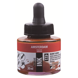 Amsterdam Acrylic Ink 30ML BRNT.SIENNA **ND**